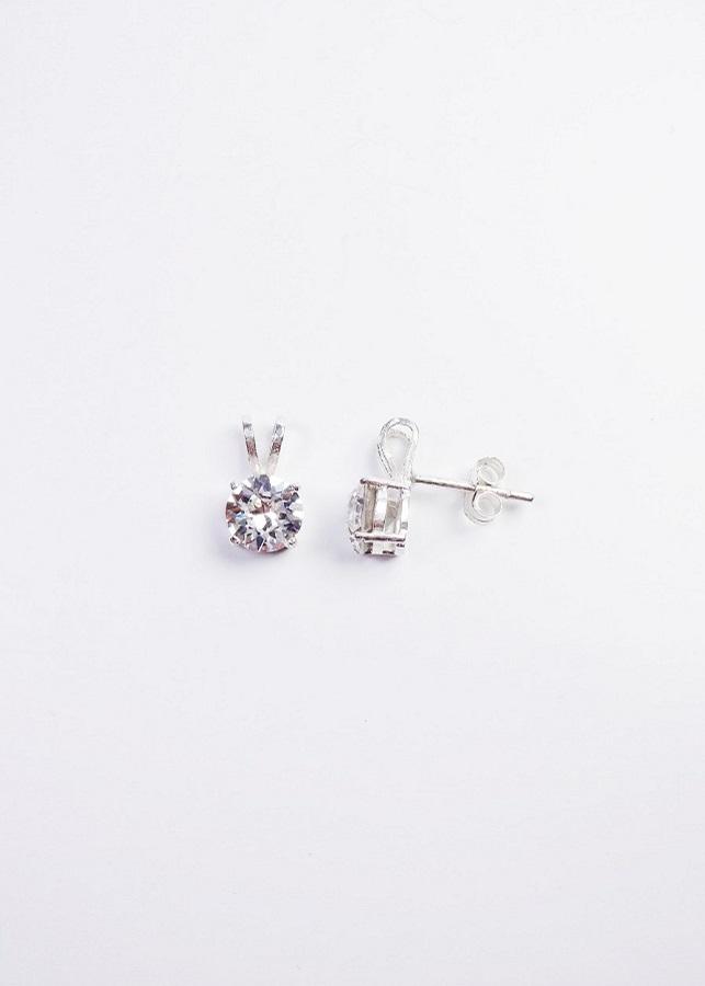 Bông tai nữ Bunny đính pha lê Swarovski Crystal BTN04