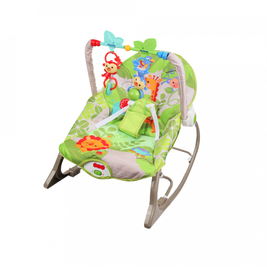 Baby Rocking Chair Multifunctional Electric Toddler Chair with Music and Vibration