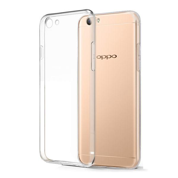 Ốp Nhựa Mềm Biaze Fresh Series JK76 Cho Oppo A59/ A59 S - Trắng Trong Suốt