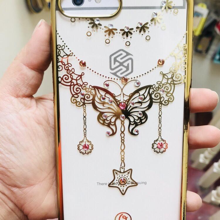 Ốp lưng cho Iphone 7 plus / 8 plus in hình bướm viền đính đá - 9700456 , 1903439874831 , 62_15801910 , 199000 , Op-lung-cho-Iphone-7-plus--8-plus-in-hinh-buom-vien-dinh-da-62_15801910 , tiki.vn , Ốp lưng cho Iphone 7 plus / 8 plus in hình bướm viền đính đá