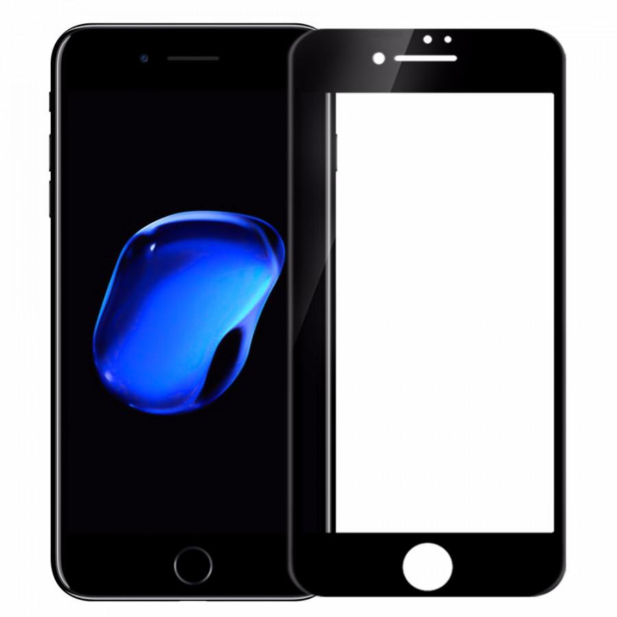 Miếng dán kính cường lực Full 10D cho iPhone 7 / iPhone 8 Hiệu Vmax (Phủ Nano, Vát 10D, mài cạnh 2.5D, hiển thị Full HD) -...