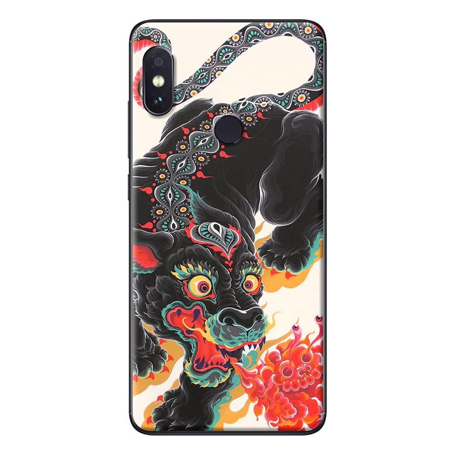 Ốp Lưng Dành Cho Xiaomi Redmi Note 5 Kỳ lân đen