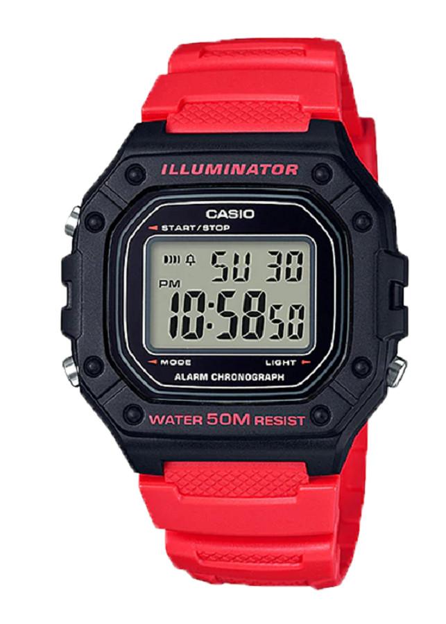 Đồng hồ nam Casio điện tử W-218H-4BVDF (43mm)