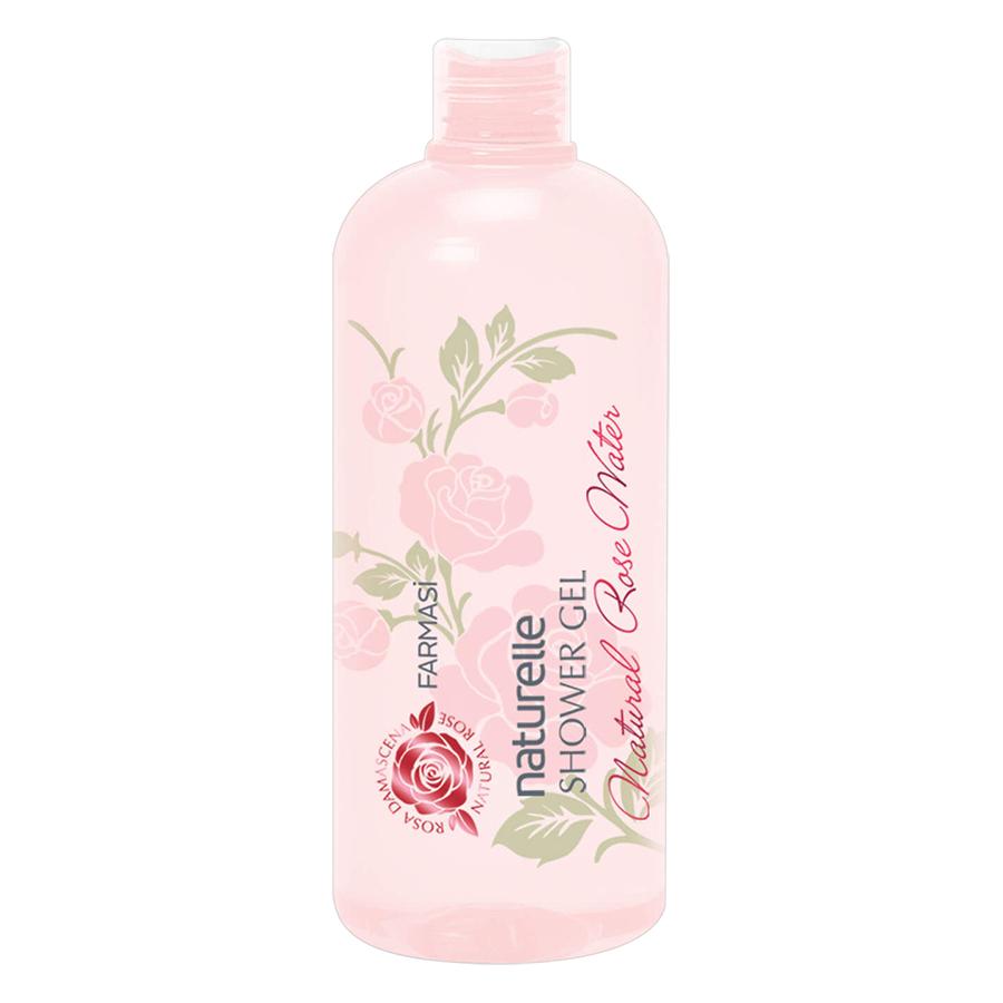 Gel Tắm Chống Lão Hóa Chiết Xuất Hoa Hồng Thiên Nhiên Farmasi Natural Rose Water Shower Gel (375ml)