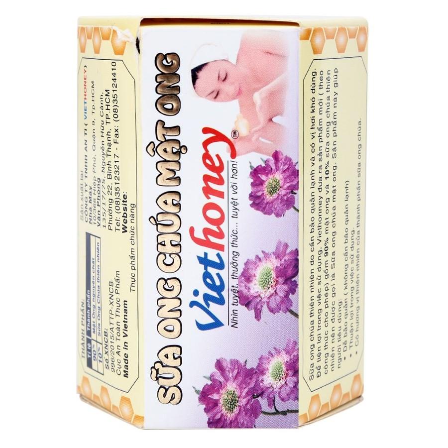 Sữa Ong Chúa Mật Ong Viethoney (Hộp 300g) - 1100274 , 8936015230212 , 62_4051885 , 62300 , Sua-Ong-Chua-Mat-Ong-Viethoney-Hop-300g-62_4051885 , tiki.vn , Sữa Ong Chúa Mật Ong Viethoney (Hộp 300g)
