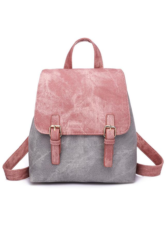 Balo thời trang da hồng - BALO113