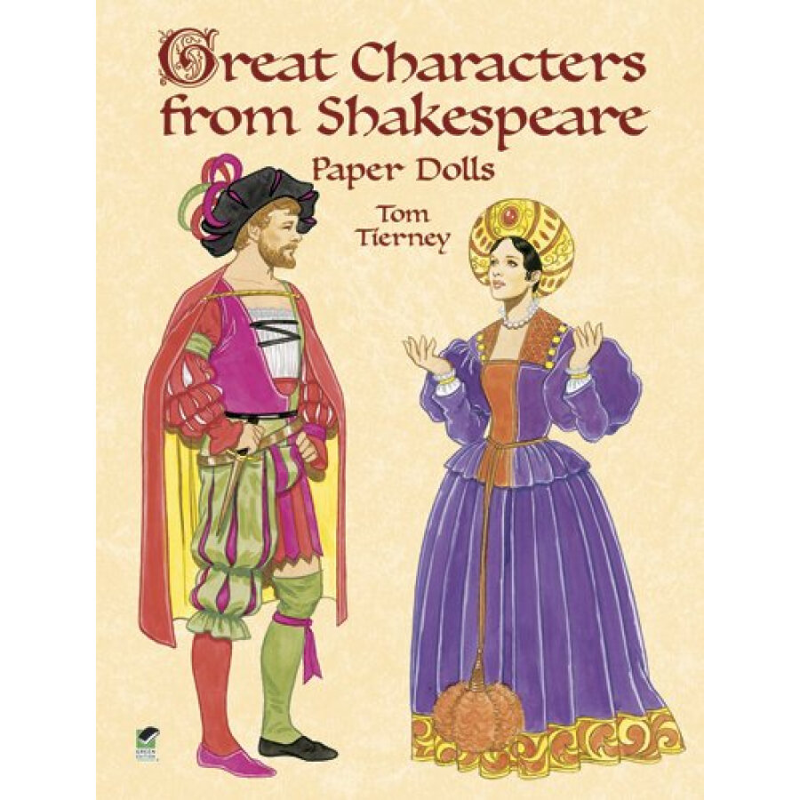 Great Characters from Shakespeare Paper Dolls - 1239210 , 9819711805795 , 62_5277425 , 177000 , Great-Characters-from-Shakespeare-Paper-Dolls-62_5277425 , tiki.vn , Great Characters from Shakespeare Paper Dolls