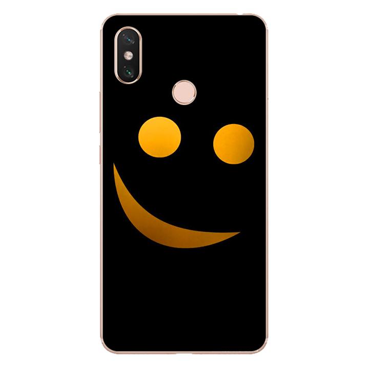 Ốp lưng dẻo cho điện thoại Xiaomi Mi Max 3_Smile 03