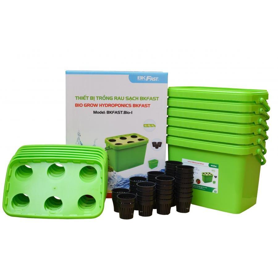 Thiết bị trồng rau sạch BKFAST + Tặng kèm 01 Gói dinh dưỡng thủy canh trị giá 150.000đ