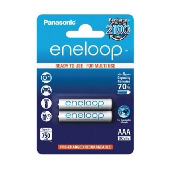 Bộ 2 Pin AAA Panasonic Eneloop 800mAh - Hàng chính hãng
