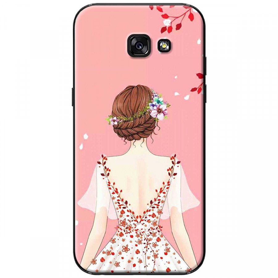 Ốp lưng dành cho Samsung A3 2017 Cô gái áo hồng