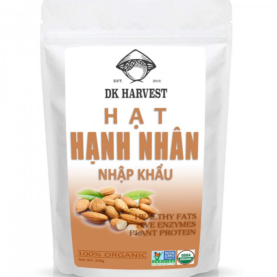 Hạnh Nhân Rang Mộc DK Harvest Nhập Khẩu USA (250g) - 9570684 , 3032088478744 , 62_15697597 , 115000 , Hanh-Nhan-Rang-Moc-DK-Harvest-Nhap-Khau-USA-250g-62_15697597 , tiki.vn , Hạnh Nhân Rang Mộc DK Harvest Nhập Khẩu USA (250g)