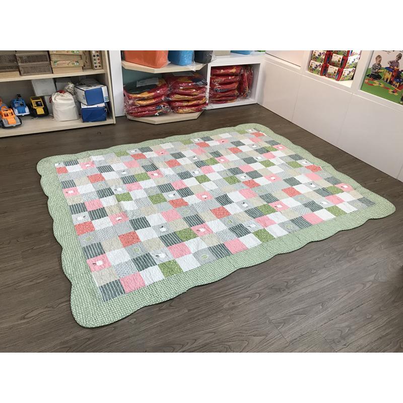 Thảm lót sàn 160x210 - Táo xanh lá - TLS142