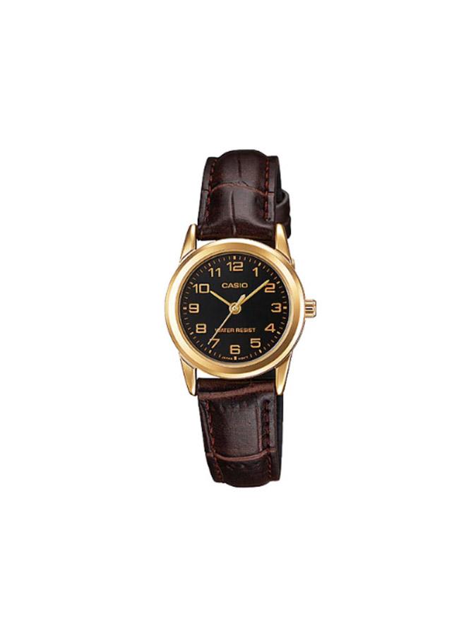 Đồng hồ Casio nữ dây da LTP-V001GL-1BUDF (25mm)