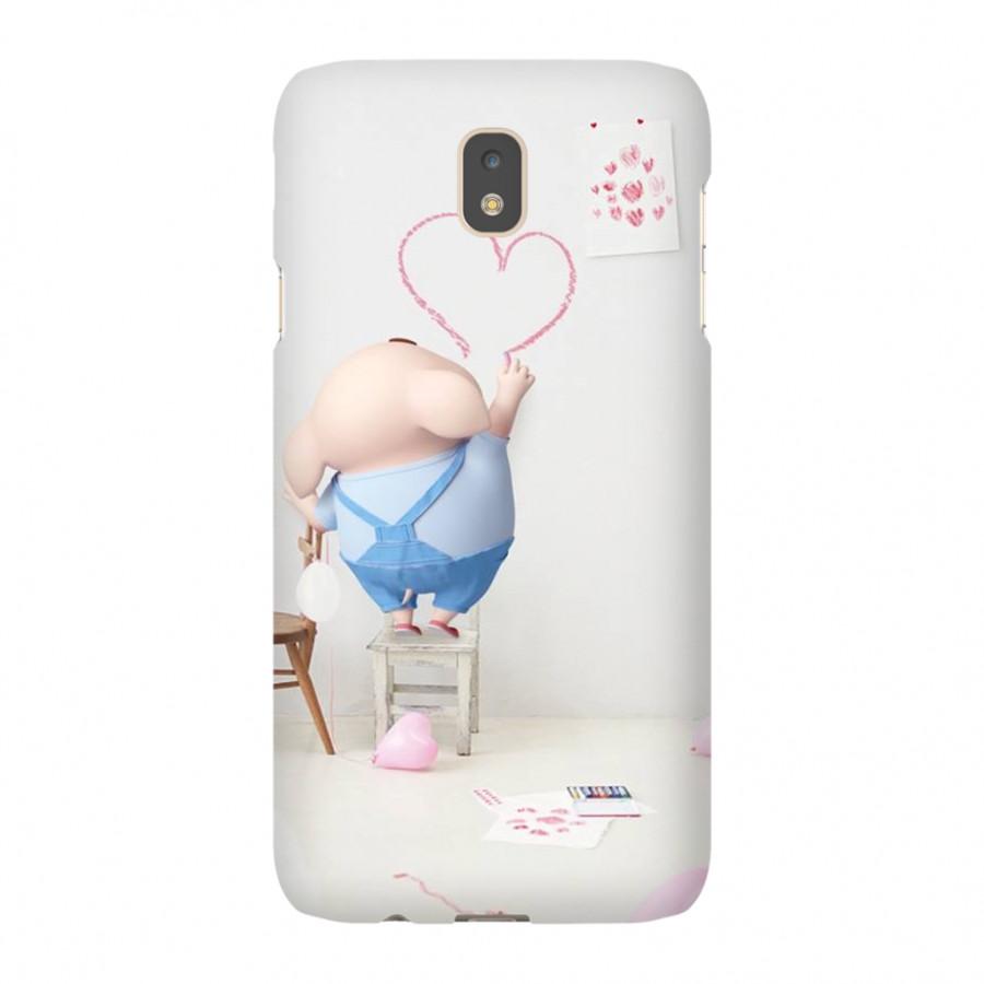 Ốp Lưng Cho Điện Thoại Samsung Galaxy J7 (2017) - Mẫu heocon 27