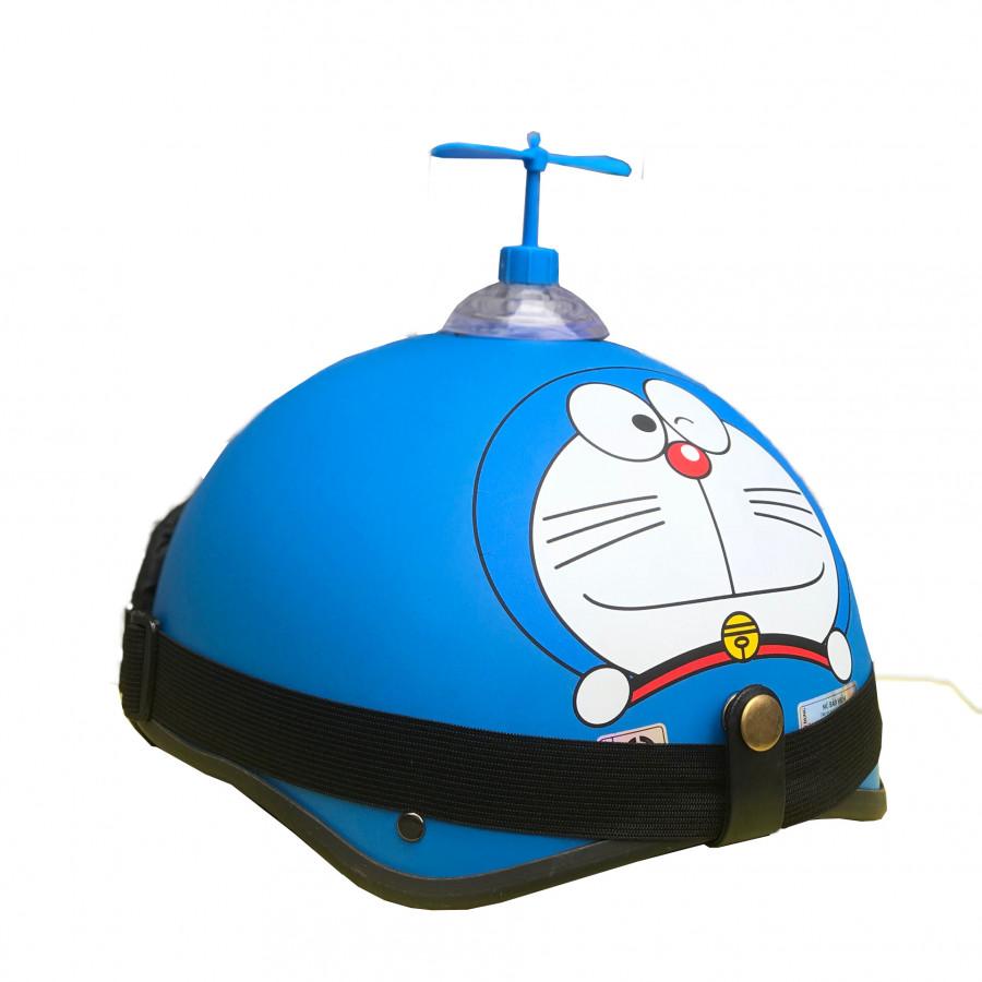 Combo mũ 1/2 Doreamon + chong chóng+kính phi công