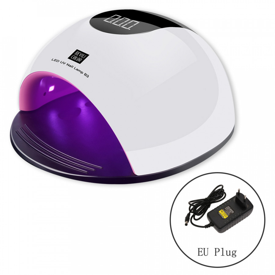 50W Smart Nail Lamp Dryer UV LED Nail Dryer Curing Lamps with Automatic Sensor Fingernail  Toenail Gel Curing Tool