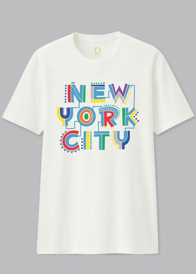 Áo thun Gia Đình Unisex Dotilo Tshirt NEW YORK CITY  - hm160