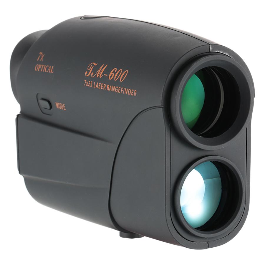 Outdoor Compact 7X25 Rangefinder 600m Range Finder Golf Rangefinder Hunting Monocular Telescope Distance Meter Speed - 600m