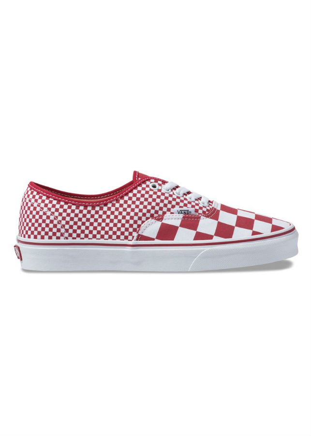 Giày Sneaker Unisex Authentic Mix Checker Vans VN0A38EMVK5 - Chili Pepper/True White - 1852023 , 1893822419940 , 62_10033467 , 1450000 , Giay-Sneaker-Unisex-Authentic-Mix-Checker-Vans-VN0A38EMVK5-Chili-Pepper-True-White-62_10033467 , tiki.vn , Giày Sneaker Unisex Authentic Mix Checker Vans VN0A38EMVK5 - Chili Pepper/True White