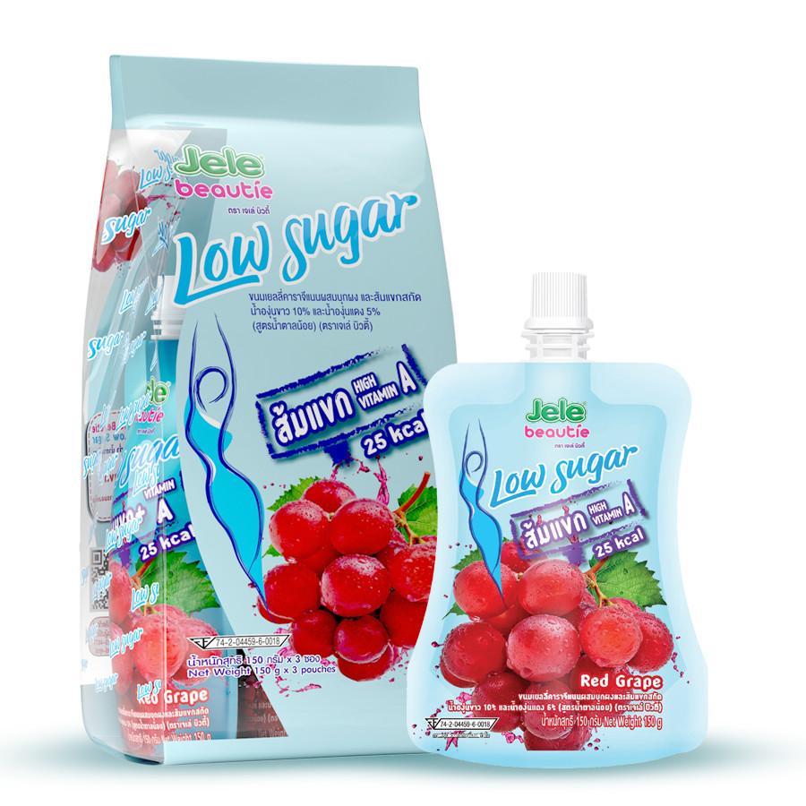 Combo 3 Nước trái cây ít đường có thạch Jele Beautie Low Sugar - hương Nho Vitamin A (150g x 3 gói) - 1676565 , 6349195914155 , 62_11650899 , 57000 , Combo-3-Nuoc-trai-cay-it-duong-co-thach-Jele-Beautie-Low-Sugar-huong-Nho-Vitamin-A-150g-x-3-goi-62_11650899 , tiki.vn , Combo 3 Nước trái cây ít đường có thạch Jele Beautie Low Sugar - hương Nho Vitamin
