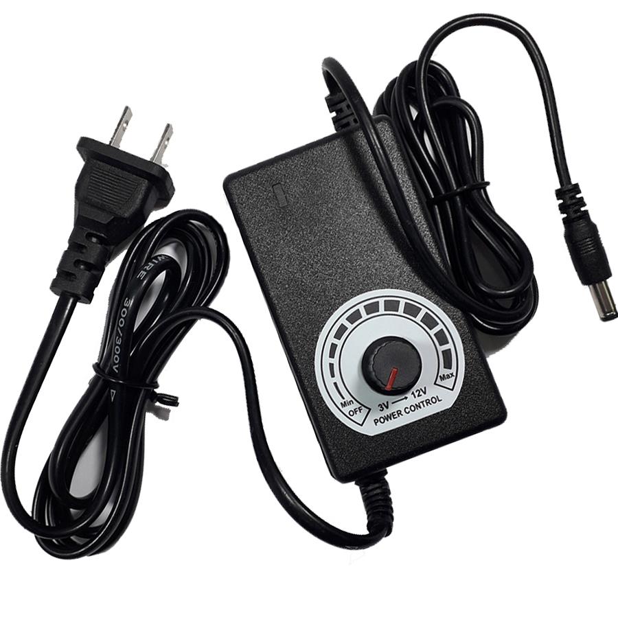 Adapter Điều Chỉnh Điện Áp 3-12VDC-2A 5.5x2.1mm