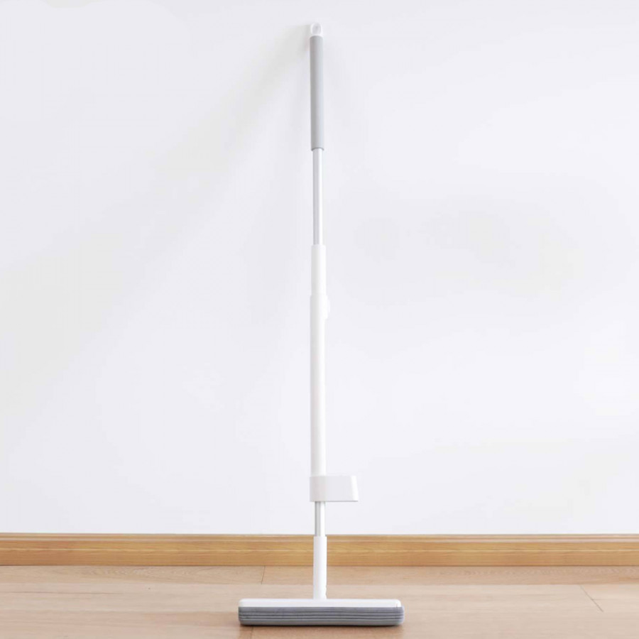 Xiaomi Wireless Handheld Mop 180-Degree Rotating Standing Adjustable Wiper Floor Washers Space-Saving Mop Household