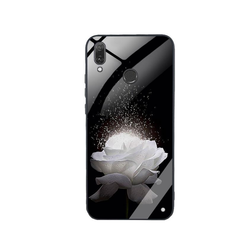 Ốp Lưng Kính Cường Lực cho điện thoại Huawei Y9 2019 -  0324 ROSE03