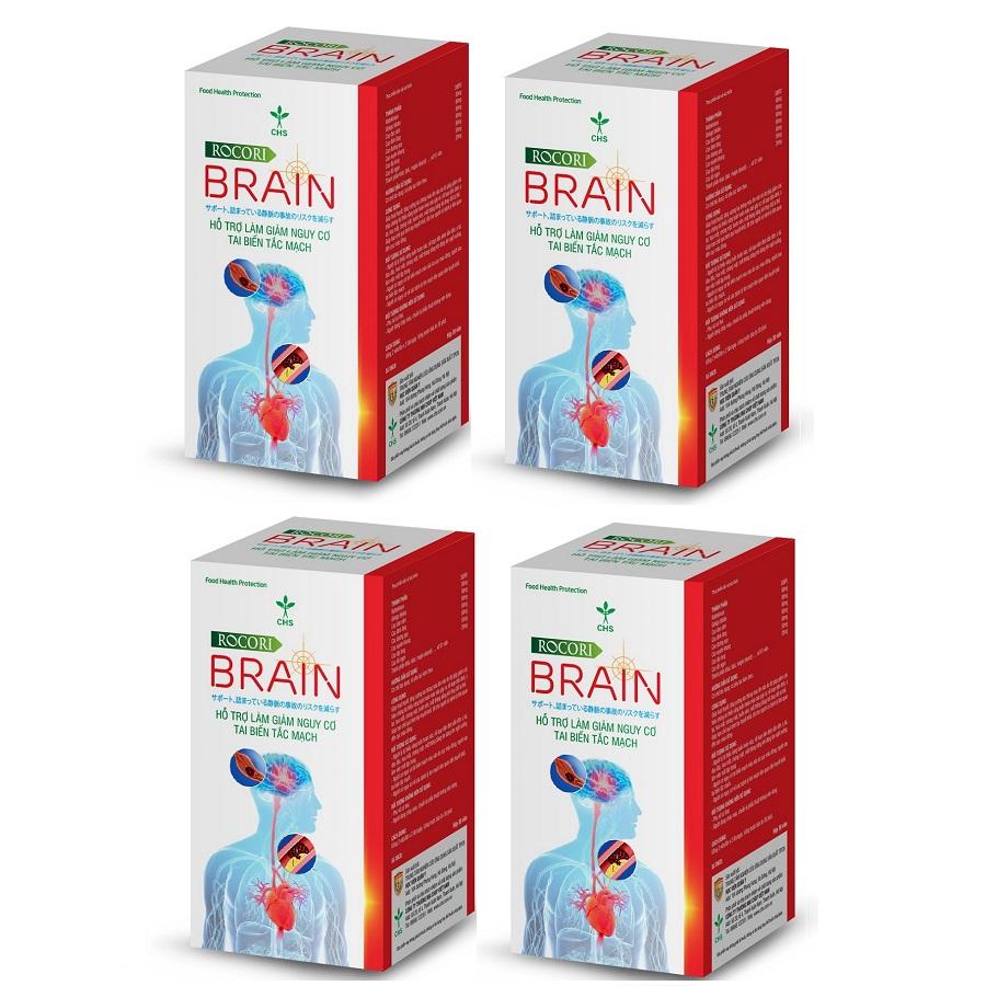 Thực phẩm chức năng Liệu trình Tan cục Máu đông Rocori Brain giúp Hồi phục nhanh sau Đột Quỵ và Ngăn ngừa tái...