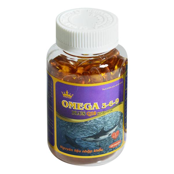 Thực Phẩm Chức Năng Omega 3 - 6 - 9 Plus Q10 (100 Viên/ Lọ)