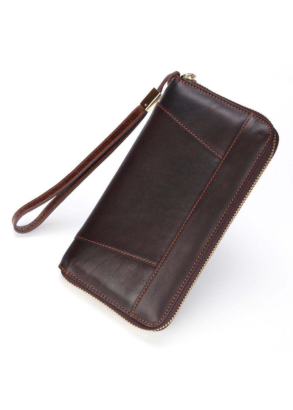 Ví dài  da bò thật - mẫu ví  cầm tay cao cấp có khóa kéo kim loại đẹp- bền-tiện dụng.VD09