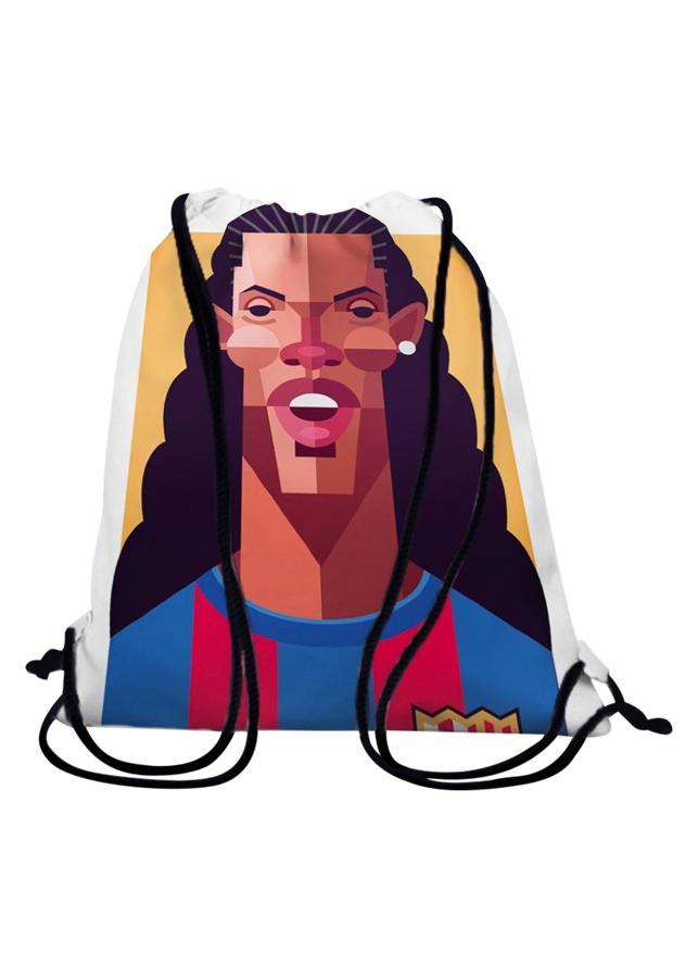 Túi Dây Rút Unisex In Hình Ronaldinho - BDST113