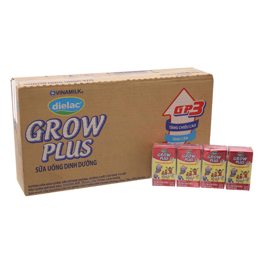 Thùng 48 Hộp Sữa Bột Pha Sẵn Vinamilk Dielac Grow Plus - Đỏ 110ml - 4824728 , 8316650495076 , 62_15356107 , 345000 , Thung-48-Hop-Sua-Bot-Pha-San-Vinamilk-Dielac-Grow-Plus-Do-110ml-62_15356107 , tiki.vn , Thùng 48 Hộp Sữa Bột Pha Sẵn Vinamilk Dielac Grow Plus - Đỏ 110ml