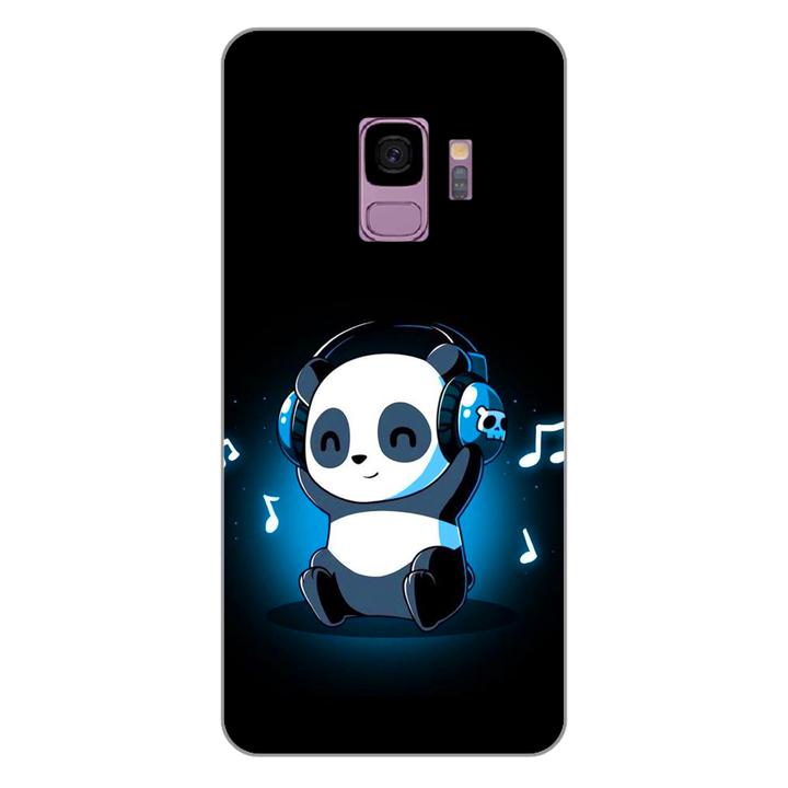 Ốp lưng dẻo cho điện thoại Samsung Galaxy S9_Panda 05