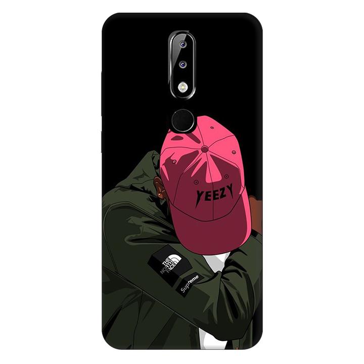 Ốp lưng nhựa cứng nhám dành cho Nokia X5 in hình Chỉ Thế Thôi