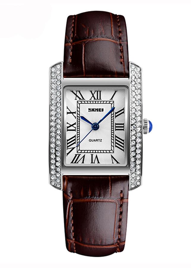 Đồng hồ Nữ dây da SKMEI 1281 - DHA483