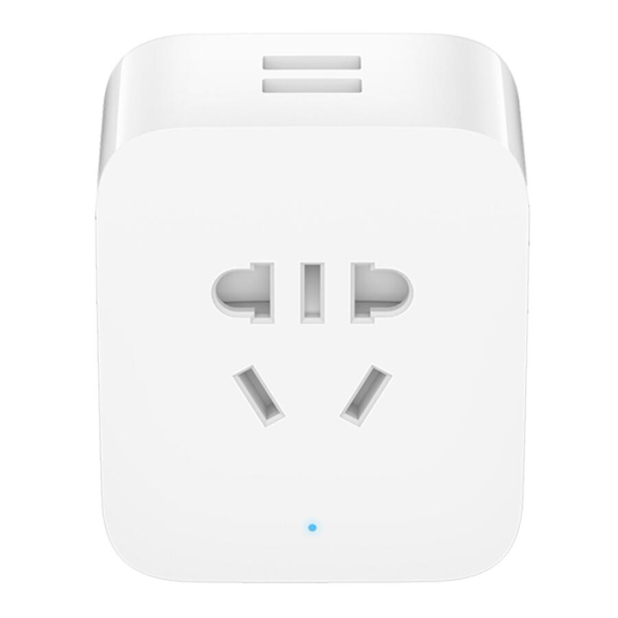 Ổ Cắm Điện Thông Minh Điều Khiển Từ Xa Xiaomi Mijia Socket 2 USB - Trắng
