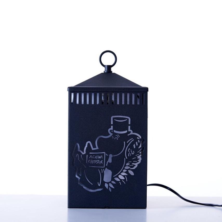 Đèn Đốt Nến Moomin Family - Black