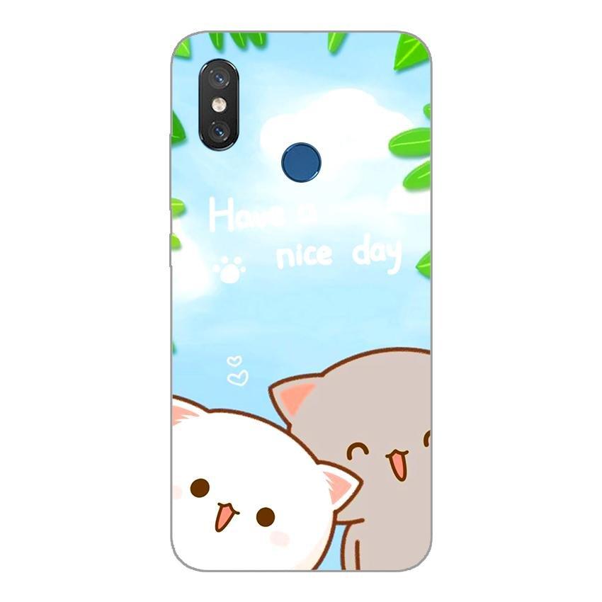 Ốp lưng dẻo cho Xiaomi Mi 8_Nice Day