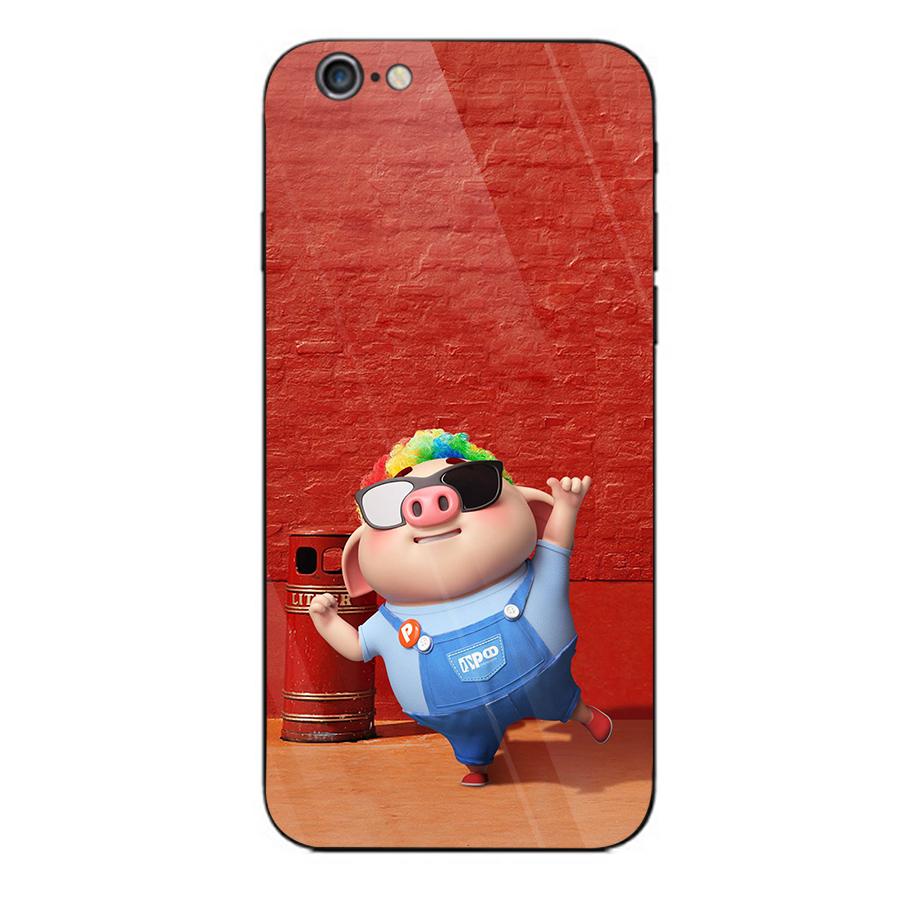 Ốp kính cường lực dành cho điện thoại iPhone 6/6s - heo hồng - hh228 - 1739214 , 4204015238137 , 62_13667594 , 205000 , Op-kinh-cuong-luc-danh-cho-dien-thoai-iPhone-6-6s-heo-hong-hh228-62_13667594 , tiki.vn , Ốp kính cường lực dành cho điện thoại iPhone 6/6s - heo hồng - hh228