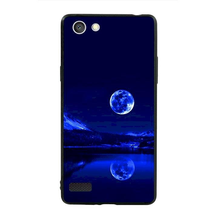 Ốp lưng viền TPU cho dành cho Oppo Neo 7 - Moon 02