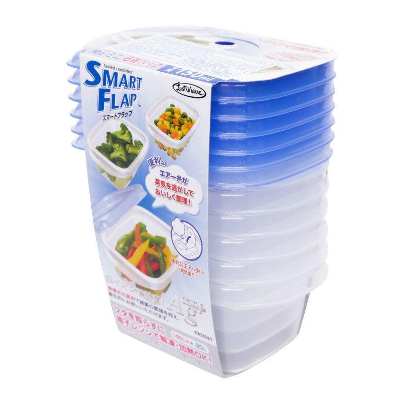 Bộ 6 hộp nhựa thực phẩm cao cấp của Nhật Bản A-044LB 150ml dùng lò vi sóng - 778812 , 6289722186993 , 62_11423845 , 169000 , Bo-6-hop-nhua-thuc-pham-cao-cap-cua-Nhat-Ban-A-044LB-150ml-dung-lo-vi-song-62_11423845 , tiki.vn , Bộ 6 hộp nhựa thực phẩm cao cấp của Nhật Bản A-044LB 150ml dùng lò vi sóng