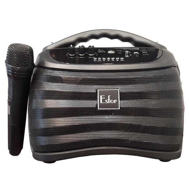 Combo bộ 3 Loa di động Hàn Quốc ESFOR ES-630 Bluetooth Karaoke 120W, Hàng chính hãng