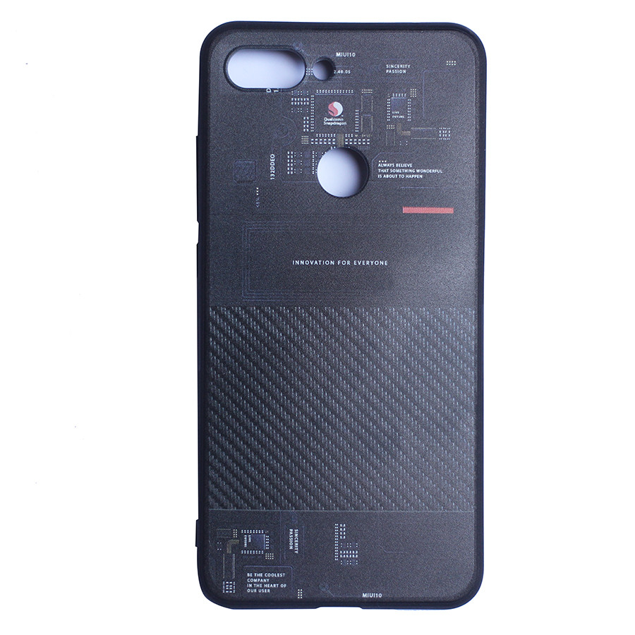 Ốp lưng dẻo cho Xiaomi Mi 8 Lite Handtown - Hàng Chính Hãng