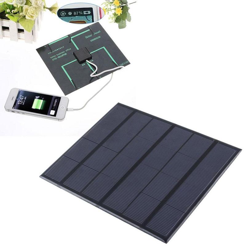 Pin Sạc Điện Thoại Năng Lượng Mặt Trời (3.5W) (6V)