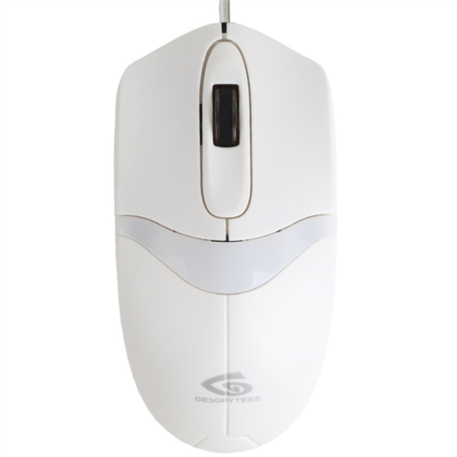 YES (GESOBYTE) M900 USB Wired Mouse White