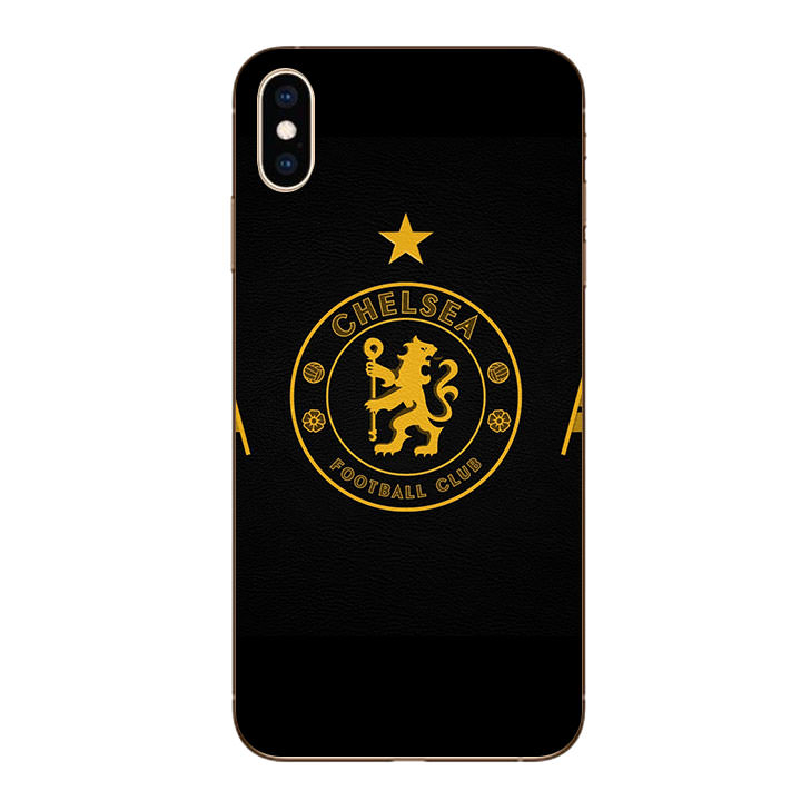 Ốp lưng dẻo cho Iphone XS Max - Clb Chelsea 03
