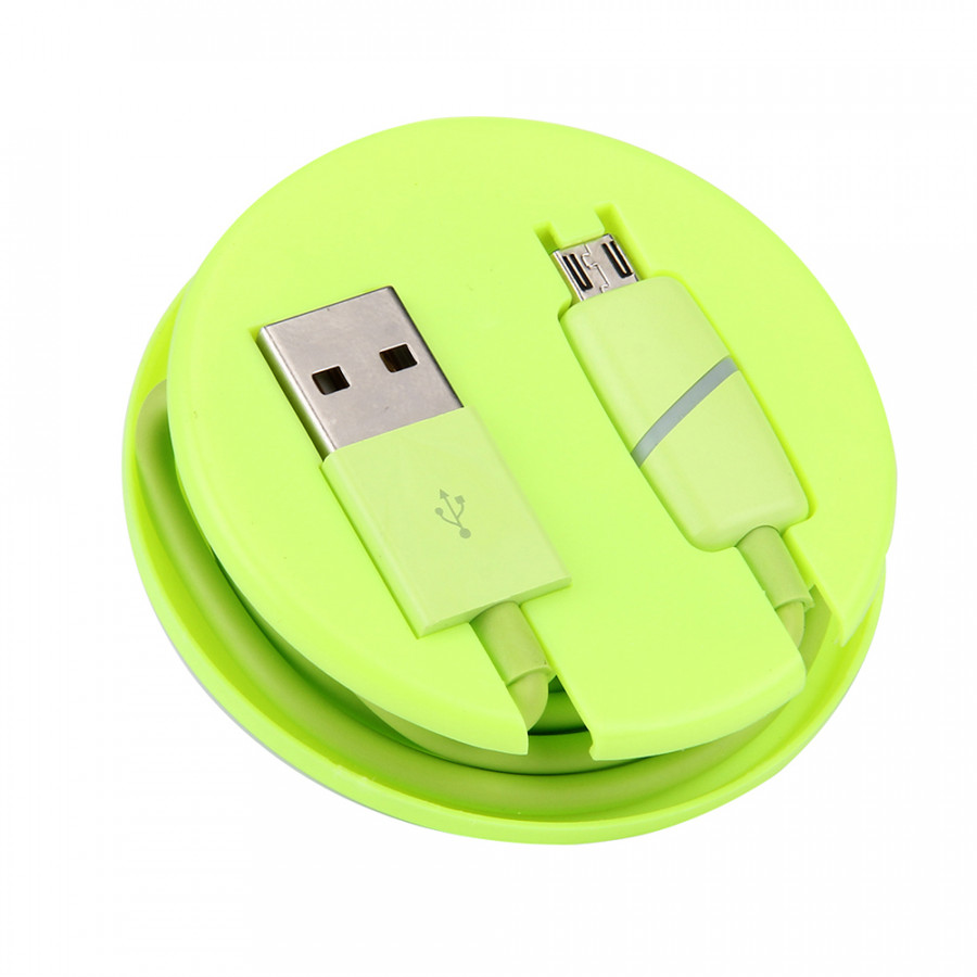 Micro USB Smart Breathing Light Data Cable Durable Tangle-Free Micro USB Charging Cable For Android Samsung Nokia Sony