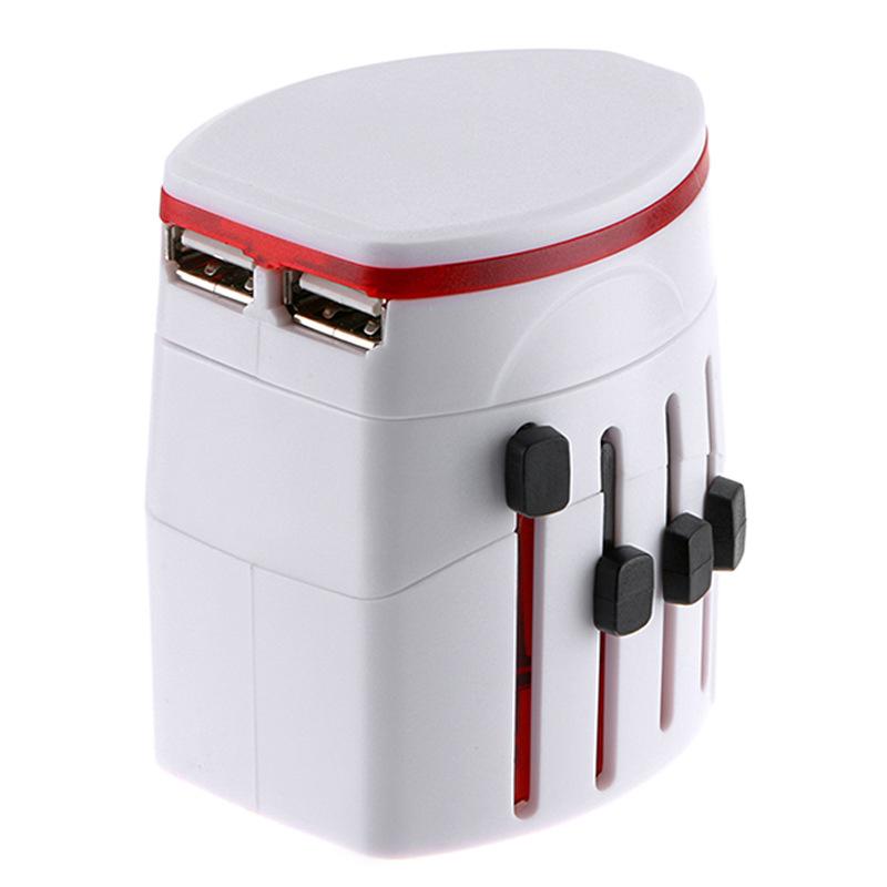 Adapter du lịch chuyển đổi cắm sạc đa năng GB-ADT02 - Combo tặng kèm bao đựng da