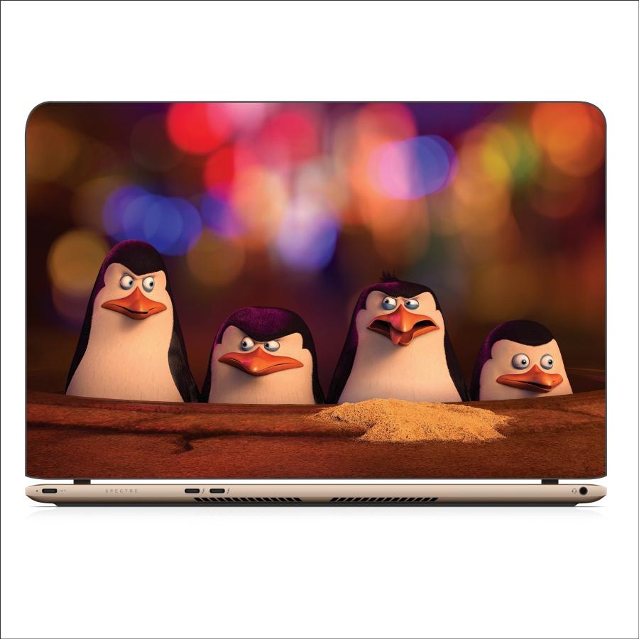 Miếng Dán Skin In Decal Dành Cho Laptop - Chim cánh cụt 5 - Mã: 071118